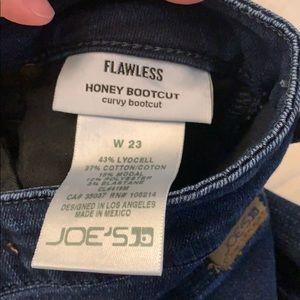 Joes jeans honey bootcut (dark denim)